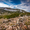 """A summer afternoon in the Snowy Range Mountains. Views of the many alpine lakes can be seen from scenic vistas along the infamous Snowy Range Scenic Byway. <br /> <br /> Photo by Kyle Spradley   © Kyle Spradley Photography    <a href=""""http://www.kspradleyphoto.com"""">http://www.kspradleyphoto.com</a>"""