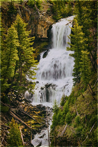 1 Undine Falls in Yellowstone