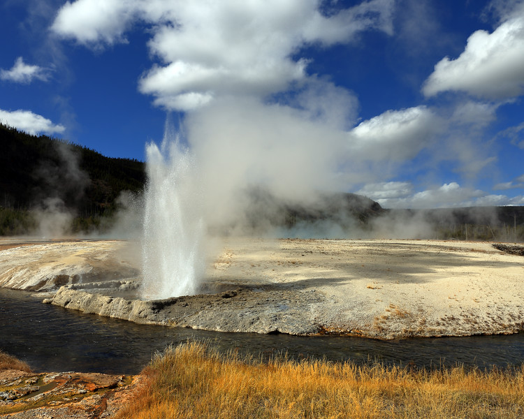 Cliff Geyser, Yellowstone National Park