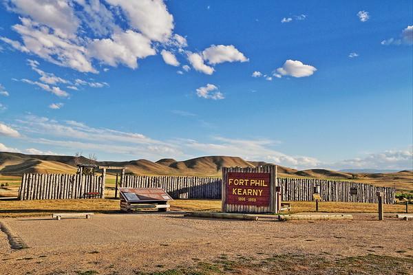 Fort Phil Kearny in Wyoming