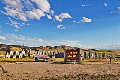 Fort Phil Kearny in Wyoming