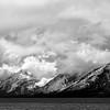 Storm Clouds and Jackson Lake, Teton County, WY