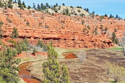 Belle Fourche River near Devil's Tower National Monument