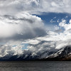 Waves and Storm Clouds, Grand Teton National Park