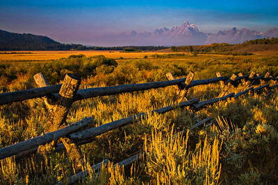 Road to Dubois on the east side of Grand Teton National Park.  Photo by Kyle Spradley | www.kspradleyphoto.com