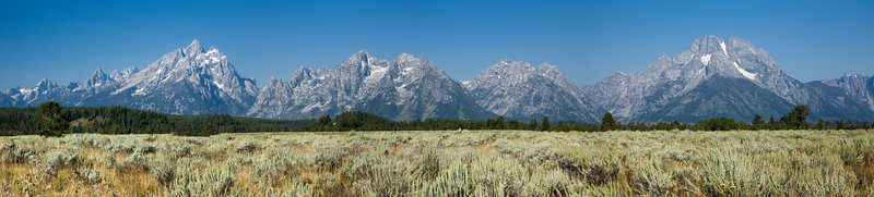 Full Frontal Teton Range