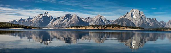Teton Lake Panorama
