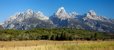 Frontside of The Tetons