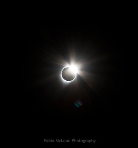 Diamond Ring - Total Solar Eclipse, August 21, 2017