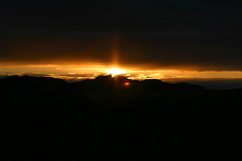 Sunrise over Split Rock - Wyoming