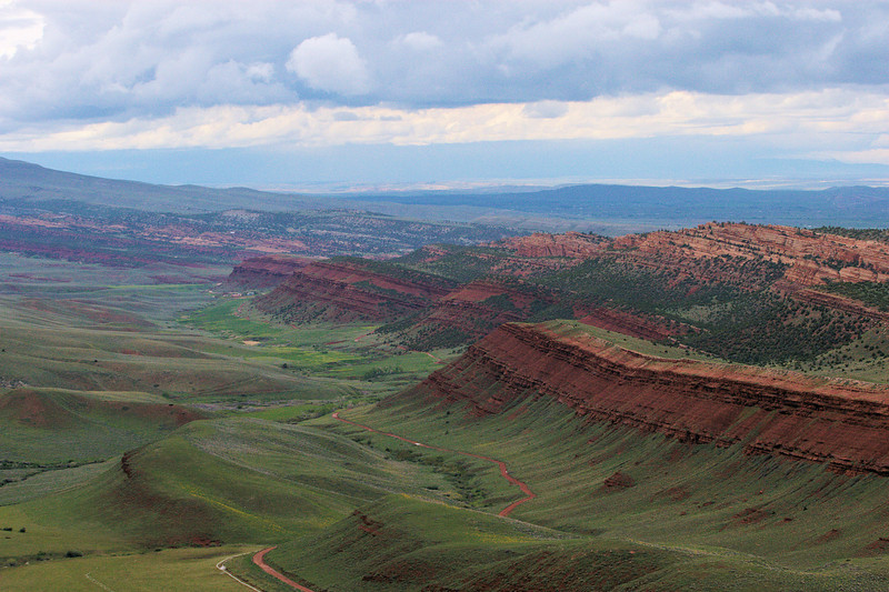 Red Canyon in Spring