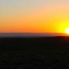 Sunset over Beaver Rim, Wyoming