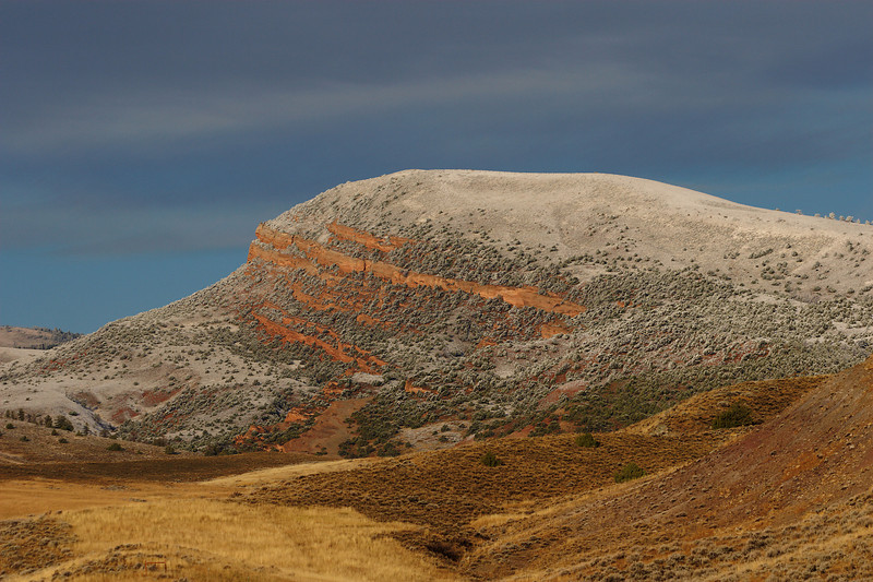 Red Butte west of Lander, Wyoming