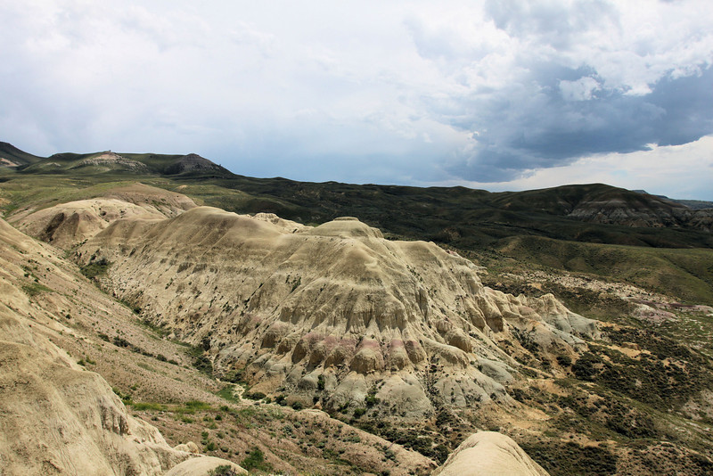 Beaver Rim badlands south of Riverton, Wyoming
