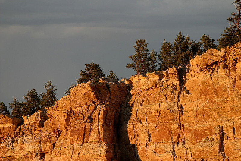 Cliff above Fremont Canyon at Alcova Lake south of Casper, Wyoming