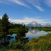 Mt Moran and Oxbow Bend, Grand Teton National Park