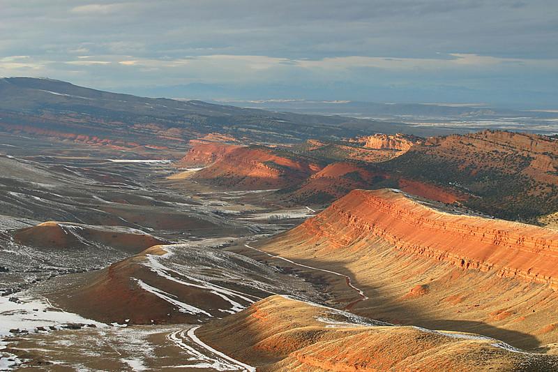 Red Canyon south of Lander, Wyoming