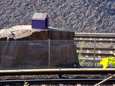 Railway doghouse