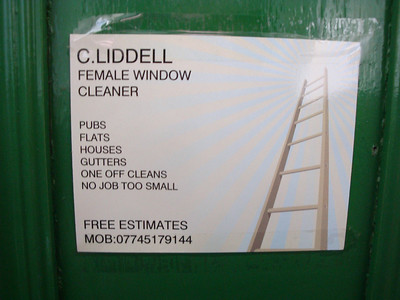 FEMALE Window Cleaner