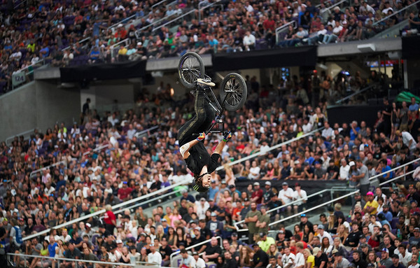 X Games at US Bank Stadium in Minneapolis, Minnesota - August 3.