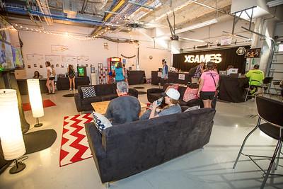 summer X Games Galleria Stage / Crowds / Wide Shots / Athlete Lounge