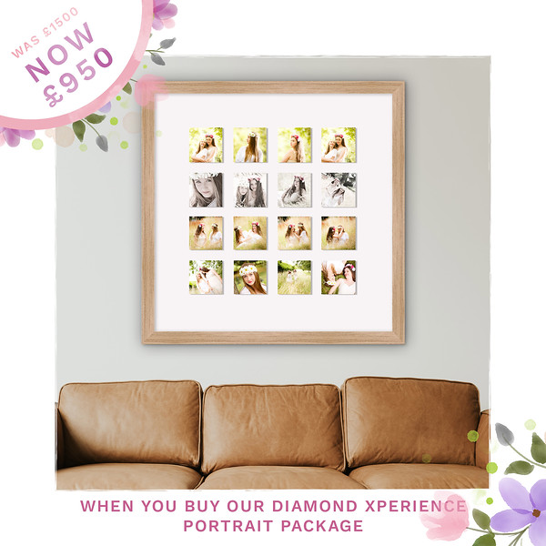 01 Diamond Mother's Day Sale Ads frames