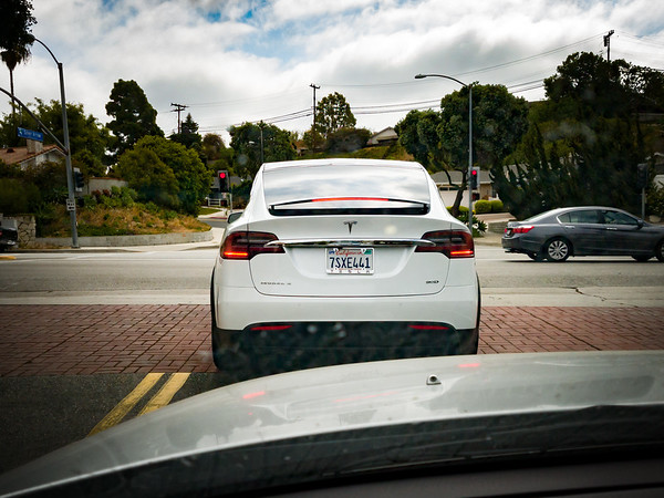 While 90D Model X leaving the Peninsula Center...could this  be me in the near future?