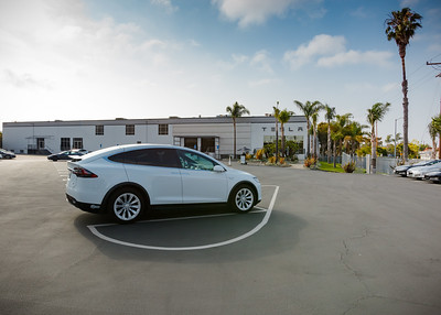 Valerie and I arrive at the Tesla Delivery Center in Marina del Rey.  This facility opened last year in anticipation of a significant increase in vehicle deliveries to customers in the Los Angeles area.