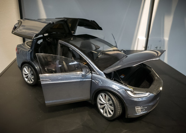 This highly detailed model is only available directly from Tesla, but I am not willing to spend $250 to get it