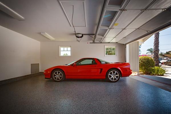NSX looks good on the new floor