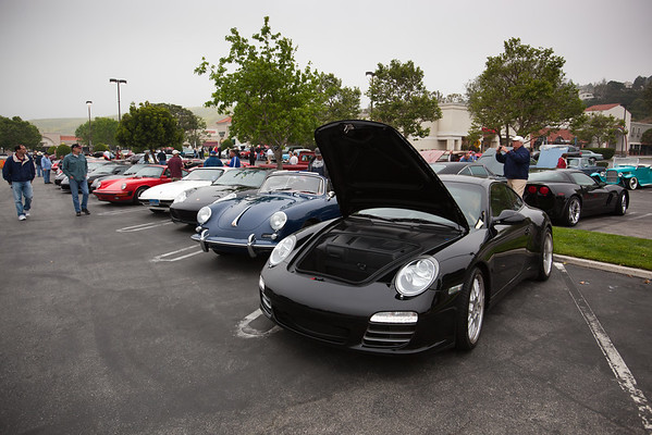 This month's featured car is Porsche...and they are well represented