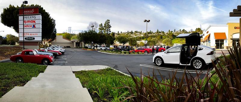 Coffee& Cars Palos Verdes Smartphone Panorama