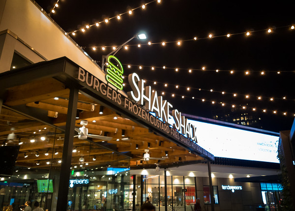 They also have a Shake Shack.  A month ago, I would have been really interested to try this place, but one just opened next to my office...and my first meal there was free!