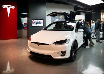 I do like the black rims and the white interior on a white Model X