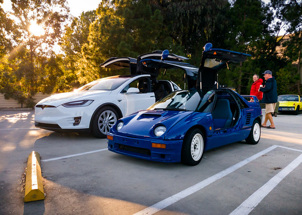 The AZ-1 is a bit larger than a Tesla Model S for Kids