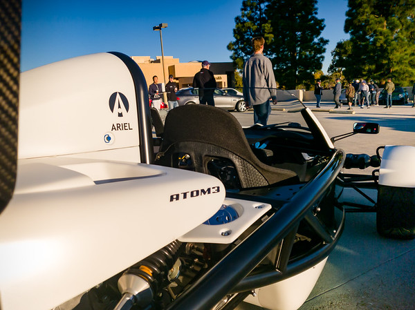 The Atom 3 brought the U.S. version closer to its U.K. counterpart.  Most importantly, this one is powered by HONDA