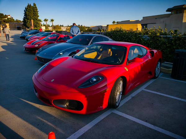 OCTOBER - PV Concours d'Elegance Cars and Coffee - Ferrari F430