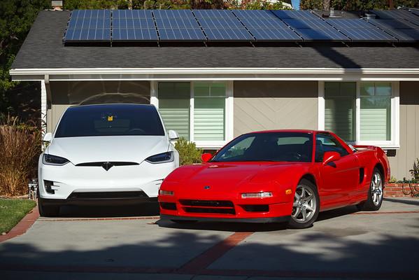 Solar power meet dino power
