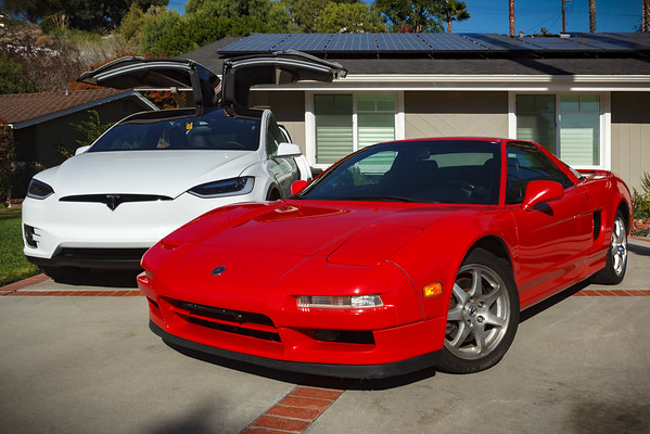 My NSX remains the queen, the X has replaced my daily...because it has the doors of a....