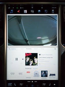 The new music player UI.  I should have taken a picture of the old one so I could remember how it changed