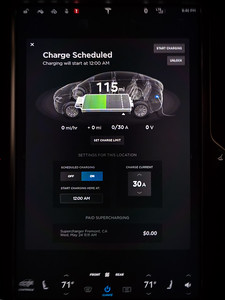 Paid Supercharging...not something I see on my display