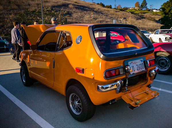 Honda Z600...I think this is the first time I have seen one of these in the wild!