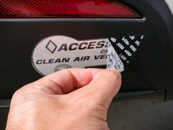 I have been prepared for the stickers to destroy themselves upon removal...it was one of the reasons I made sure to adhere them to the plastic parts of the X's bumper.  And I have Goof Off Heavy Duty spray on hand.
