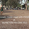 Boys'  Coronado-Christian  Cluster meet at Morley Field 2 November 2011.