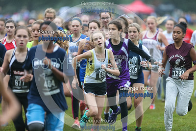 2017 Ocean State XC, 8th Grade Girls