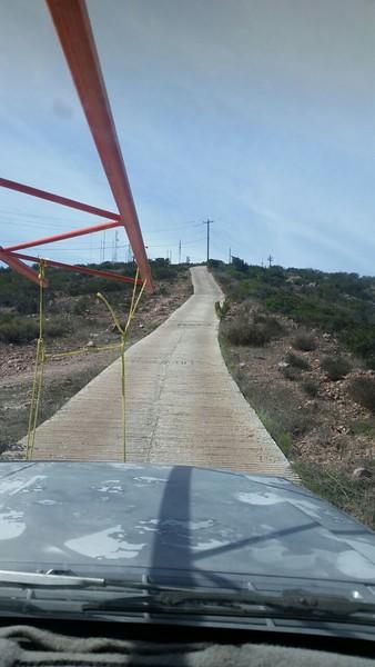 XE2BGF and company go to Cerra Colorado for site work