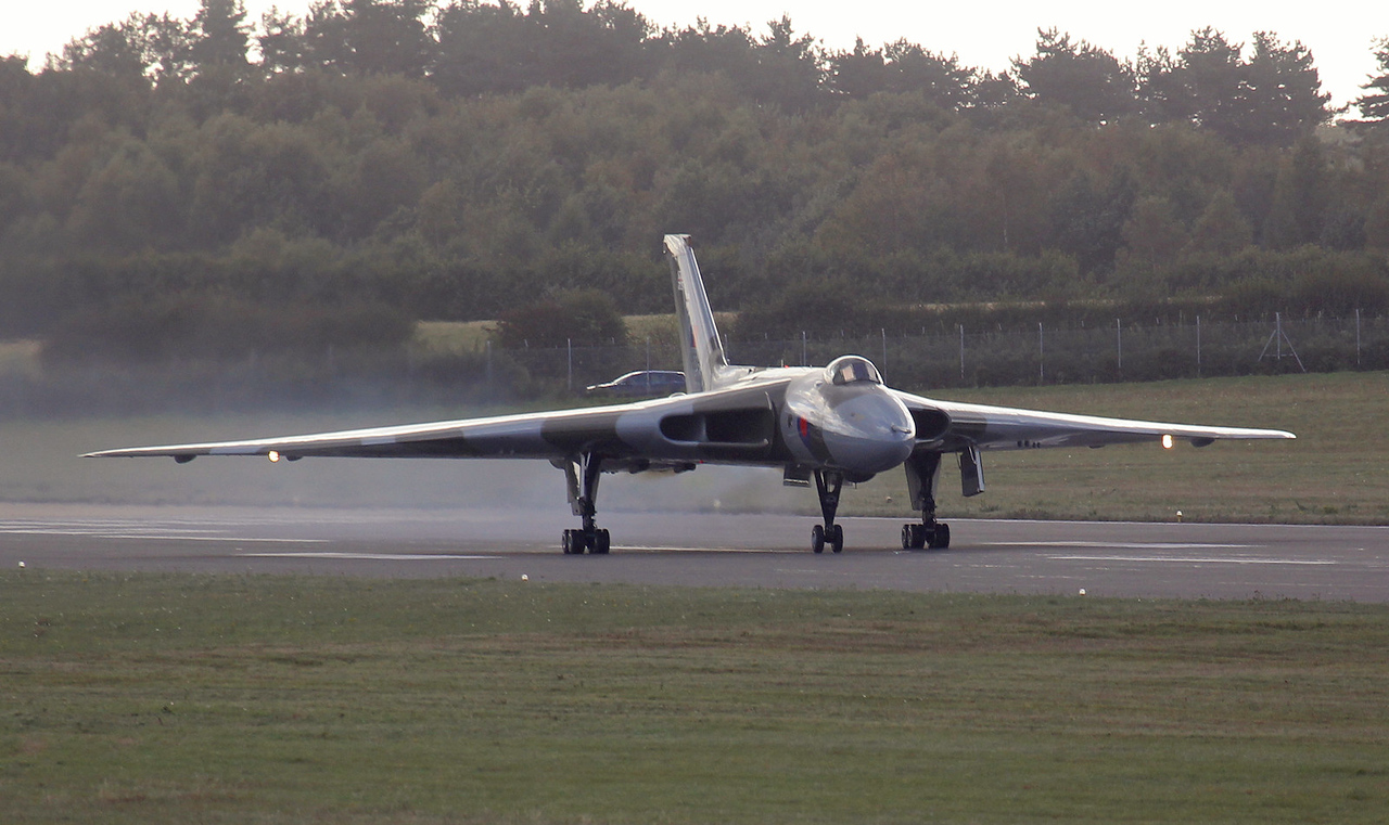 After finding the runway the throttles were opened.<br /> By Jim Calow.
