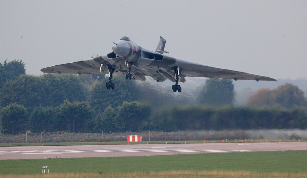 558 over the threshold for a  'Missed Approach'<br /> By Jim Calow.