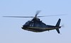 Castle Air, Agusta A109AII, G-TELY in persuit of a Vulcan<br /> By Correne Calow.