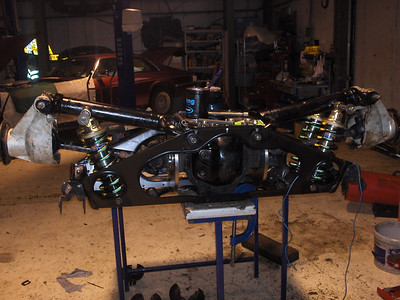 New KWE rear suspension